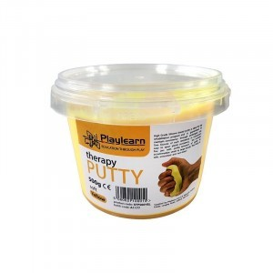 Bulk Soft Therapy Putty for Kids and Adults – Yellow 500g