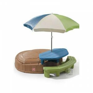 Summertime Sandbox & Picnic Table Play Island - Step2