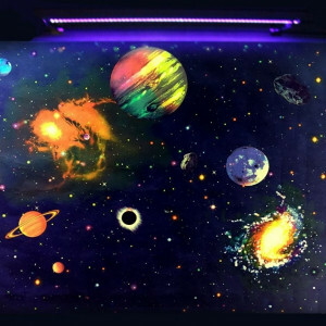 Uv Wall Paper Galaxy