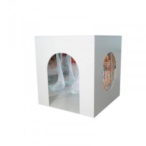 Large Wooden Padded Den For Bubble Tube And Fibre Optics