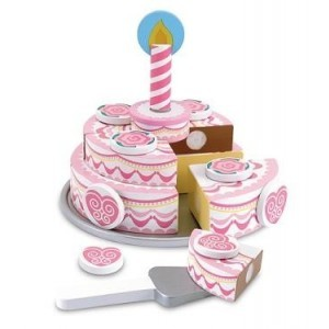 Wooden Party Cake Melissa & Doug 14069