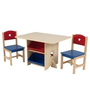 Table and 2 chairs with stars - Kidkraft (26912)