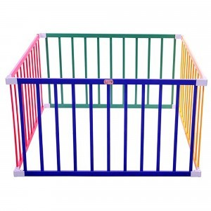 Boss Playpen – Square Colourful - Liberty House Toys (TBP01C)