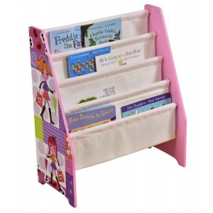 Fashion Girl Book Display with Canvas Pockets - Liberty House Toys (TF4624)