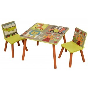 Kid Safari Table and Chair Set - Liberty House Toys (TF4808)