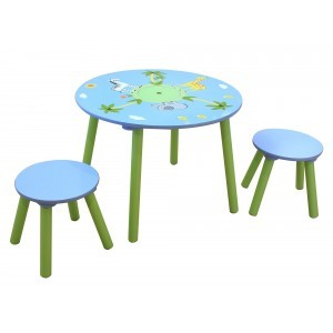 Safari Round Table & 2 Stools Set - Liberty House Toys (TF5002)