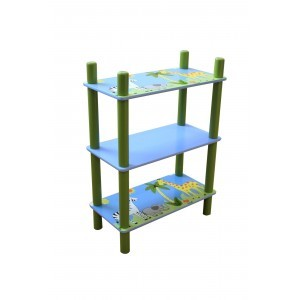 Safari 3 Shelf Unit - Liberty House Toys (TF5004)
