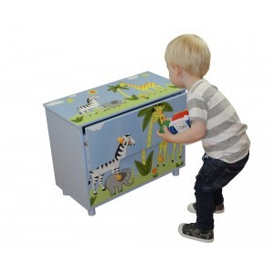 Safari Cabinet with Two Drawers - Liberty House Toys (TF5009)