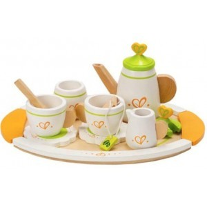 Wooden tea set Hape