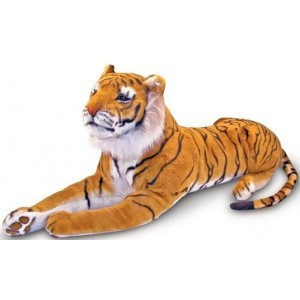 Large Siberian plush tiger Amur - Melissa & Doug (12103)