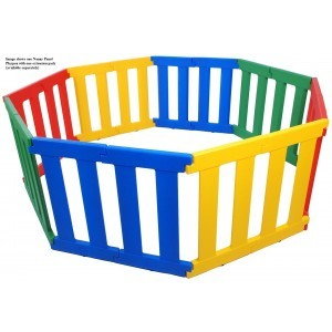 Tikk Tokk Nanny Panel Playpen - Liberty House Toys (TNP01C)