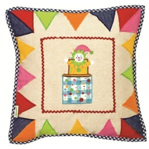 Toy Shop Playhouse Cushion Cover - Win Green (1610)