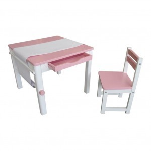 Tikk Tokk Boss Art Table – Pink - Liberty House Toys (TPS01P)