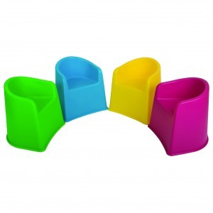 Children's Tub Chairs – 4pc - Liberty House Toys (TUBMX4)