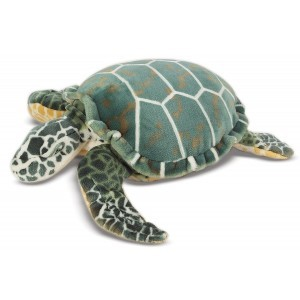 Large Plush Sea Turtle Paddles - Melissa & Doug (12127)