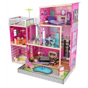Uptown Mansion Dollhouse - Kidkraft (65833)
