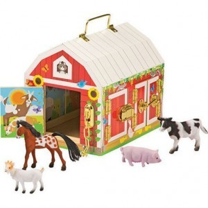 Wooden Latches Barn - Melissa & Doug (12564)