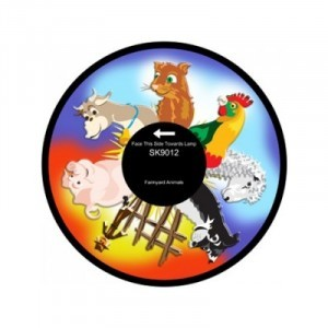 "6"" Effect Wheel - Farmyard Animals - (W-FARM)"