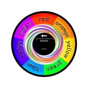 "6"" Effect Wheel - Rainbow - (W-RAIN)"