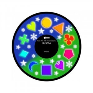 "6"" Effect Wheel - Shapes - (W-SHAPE)"