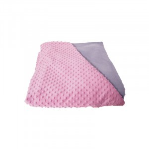Weighted Blanket Pink / Grey Large -  5 Kg