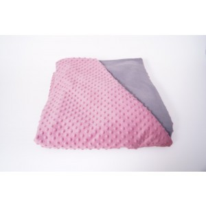 Weighted Blanket Pink / Grey Medium - 4 Kg