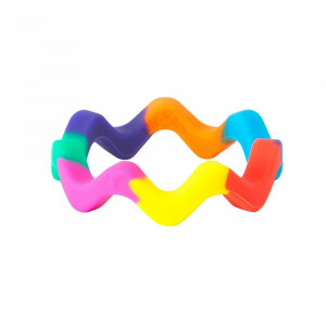 Chewigem Chewing Bangle – Sensory Rainbow Bangle Chewy