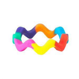 Chewigem Chewing Bangle – Sensory Rainbow Bangle Chewy