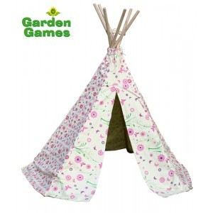 Wigwam Flowers & Butterfly Play Tent - Garden Games (7096013)