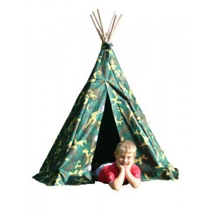 Wigwam Camouflage Play Tent - Garden Games