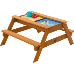 Sandpit - Water table - Picnic table - Plum