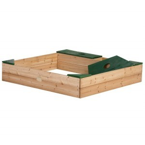 Axi wooden sandbox Amy
