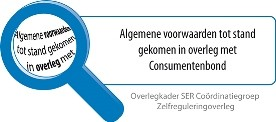 Algemene Voorwaarden in overleg met Consumentenbond